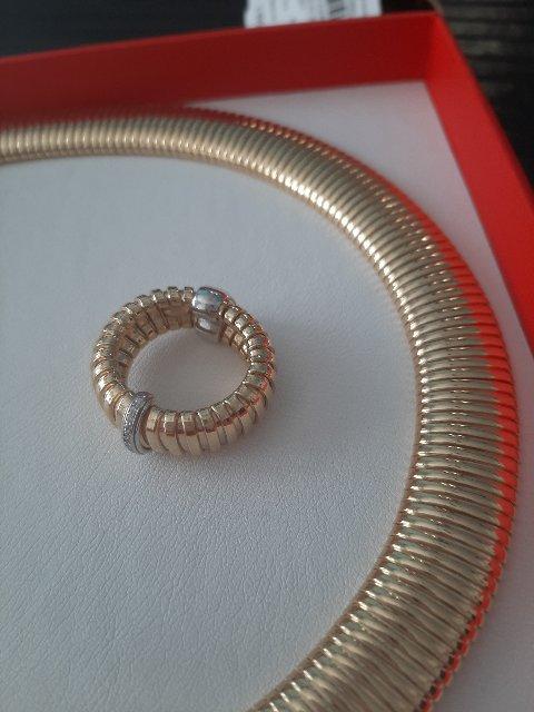 Кольцо под колье