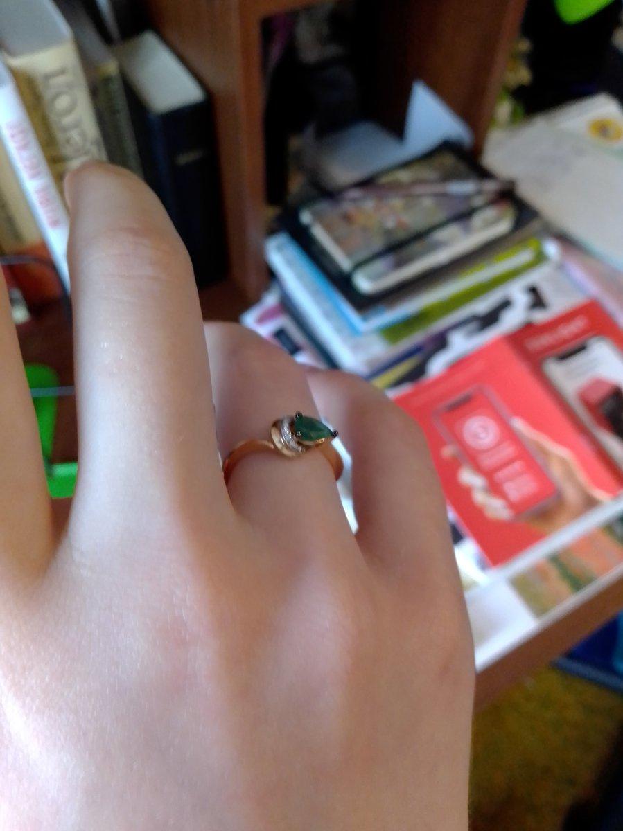Мечтала об этом кольце!
