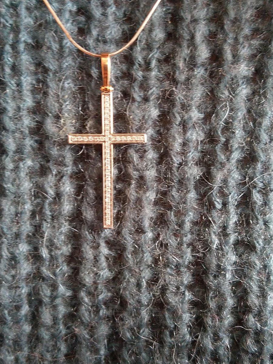 Великолепный лаконичный элегантный крест