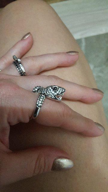 Перстень змея