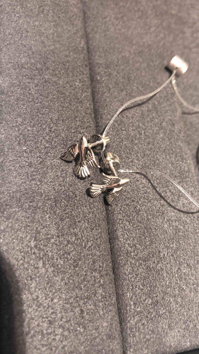 Серебреные сережки
