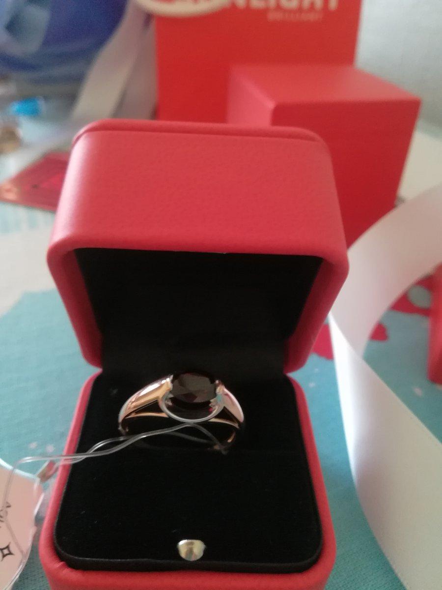 Кольцо подарок для мамы.