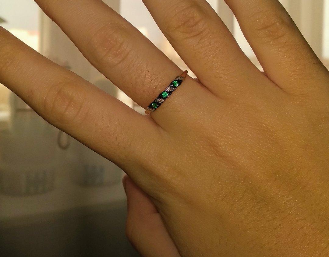 Купила кольцо, и не пожалела.
