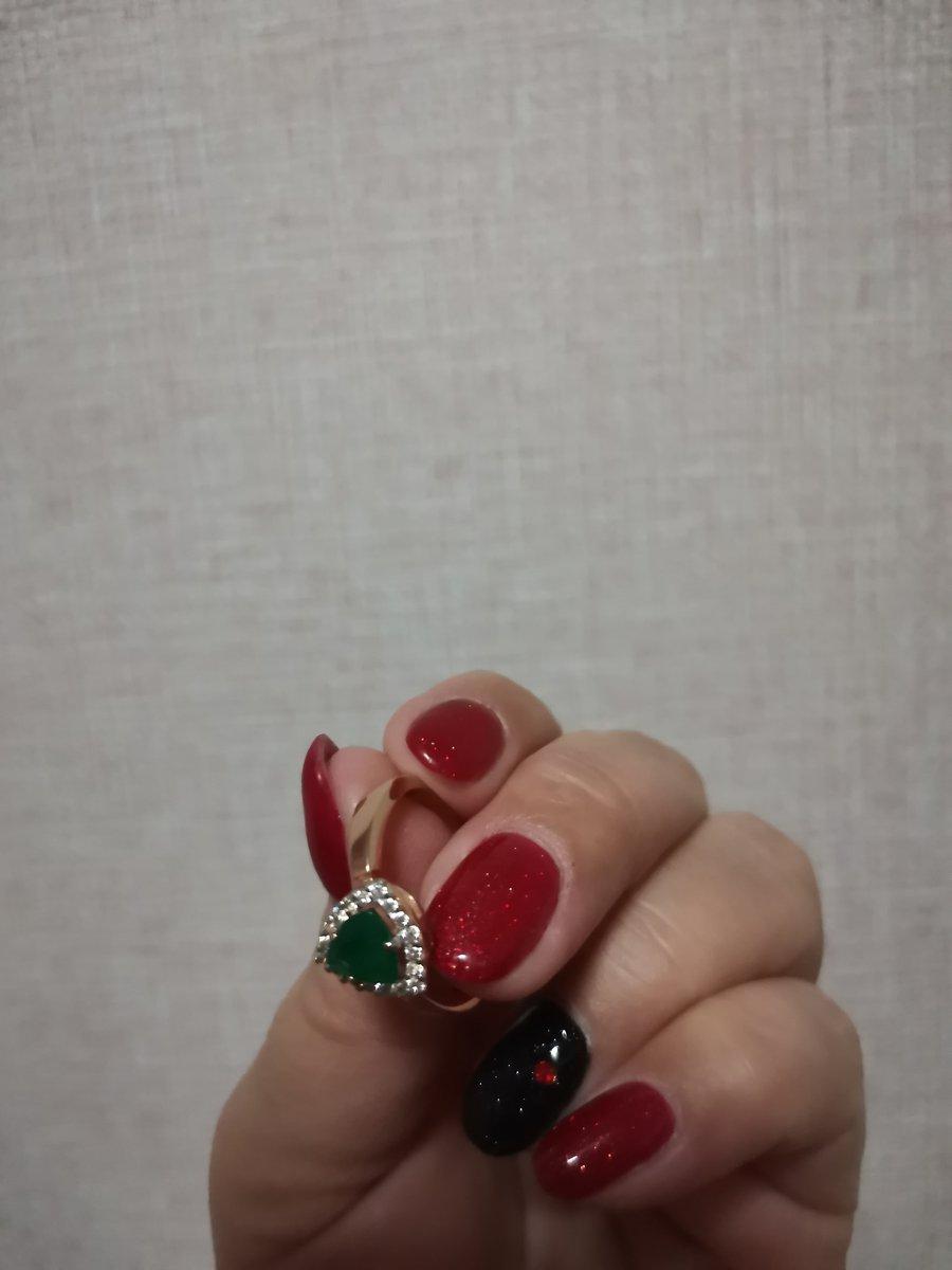 Очень красивое кольцо с агатом!