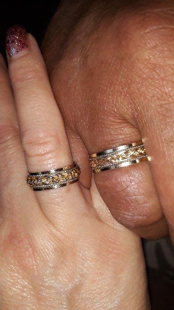 Прекрасное кольцо для венчания