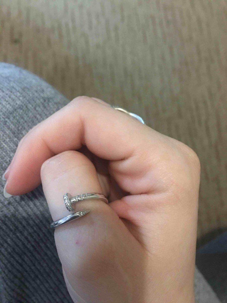 Кольцо-гвоздик