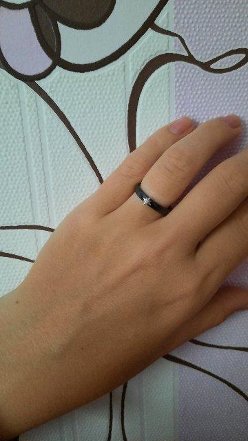 Давно хотела чёрное кольцо.
