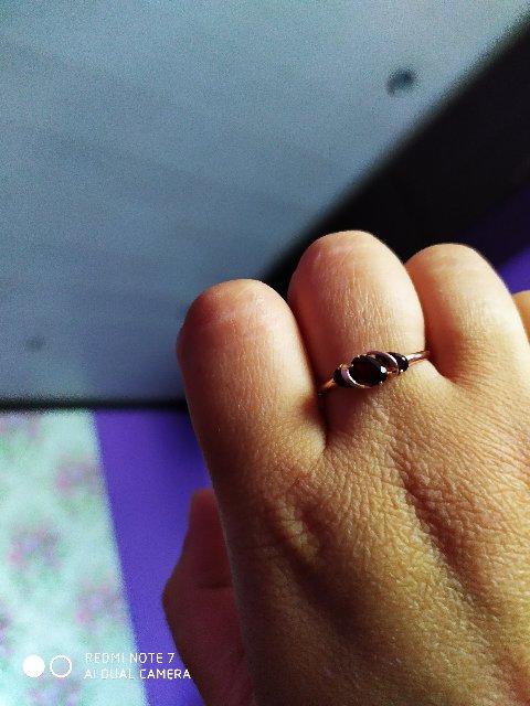 Кольцо гранатовое