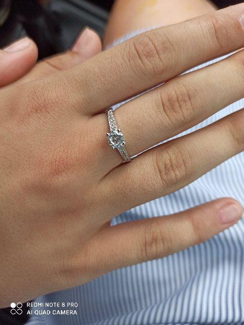Покупка кольца дочери