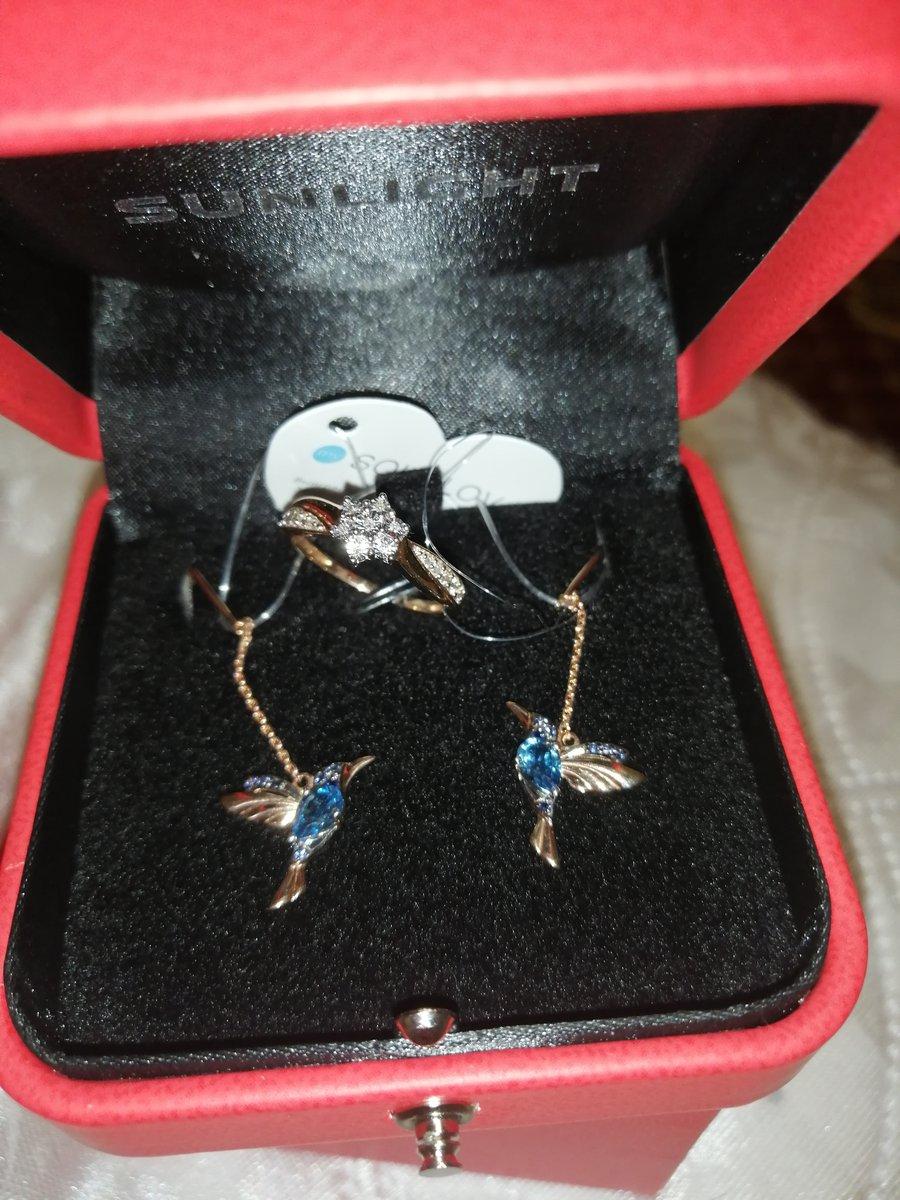 Серьги - птички