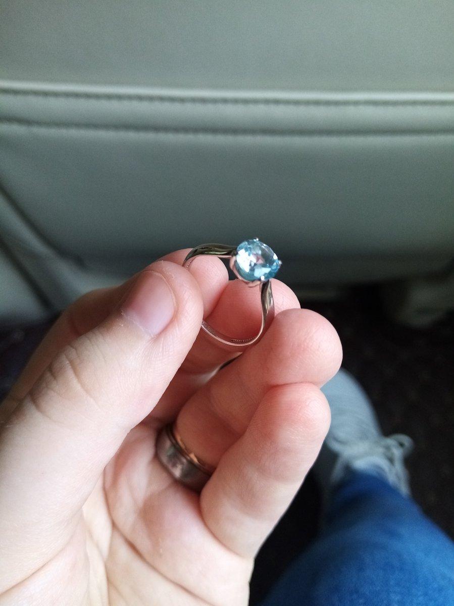 Кольцо брала к сережкам