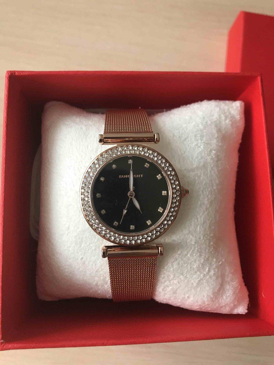 Заказала себе часы