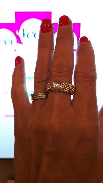 Ажурное кольцо.