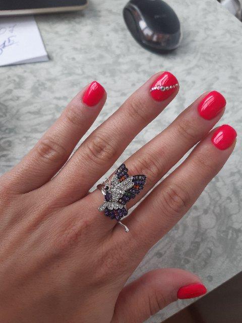 Кольцо просто супер, классное