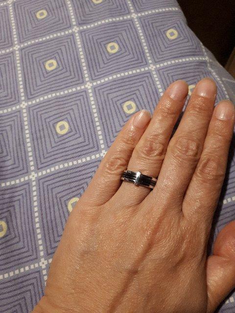 Кольцо  с керамикой