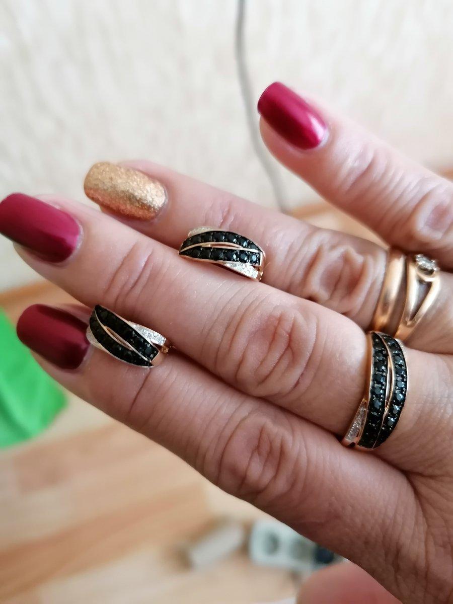 Хотела кольцо, но увидела серьги и решила взять гарнитур!