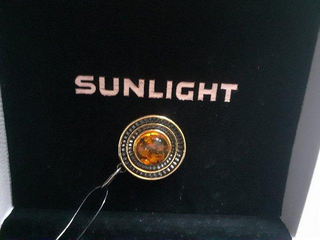 Солнце из янтаря