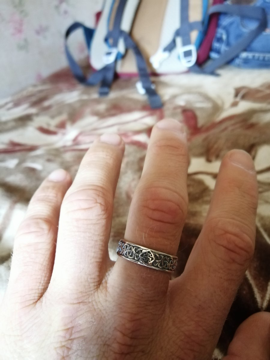 Кольцо, как влитое
