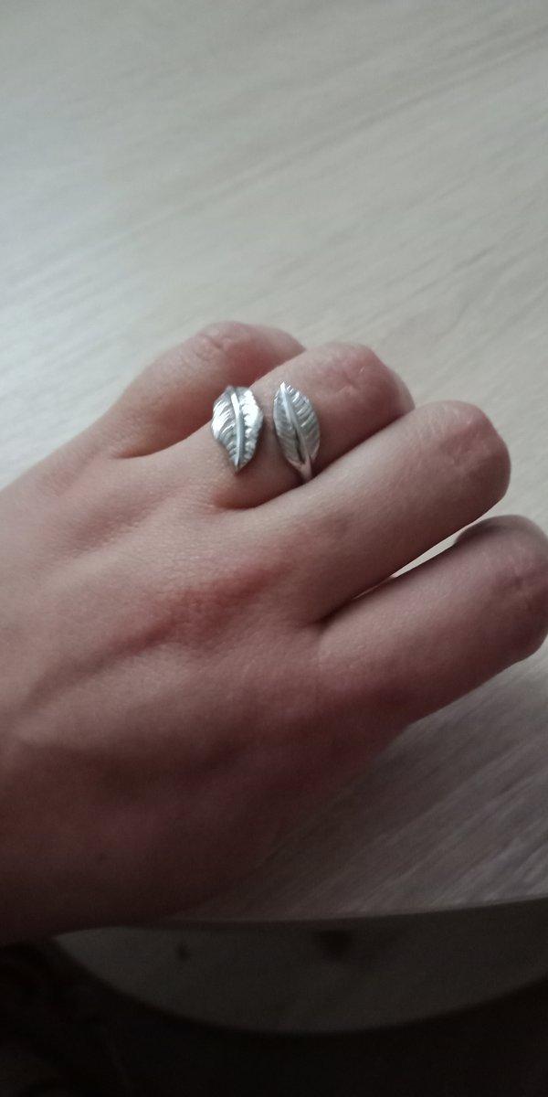 Серебряное колечко