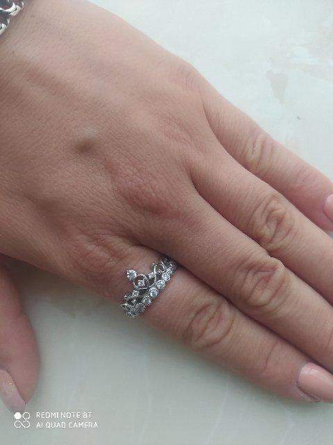 Купила  значит кольцо, сразу обратила на него внимание.