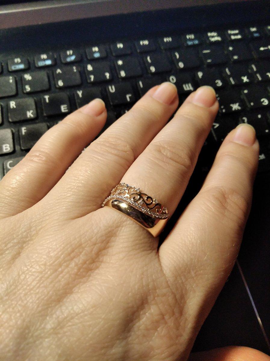 Кольцо - нежность и достоинство