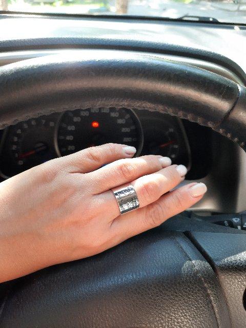 Отличное кольцо, стильно смотрится