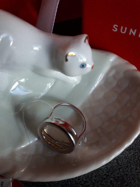 Серебряное кольцо SOKOLOV-стильно, красиво, роскошно!!!