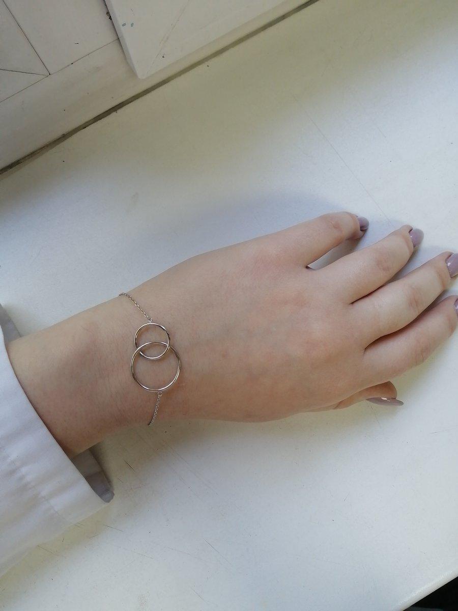 Купила себе браслет в подарок