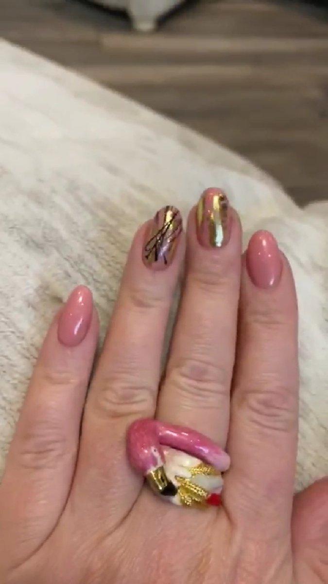 Фламинго колечко)