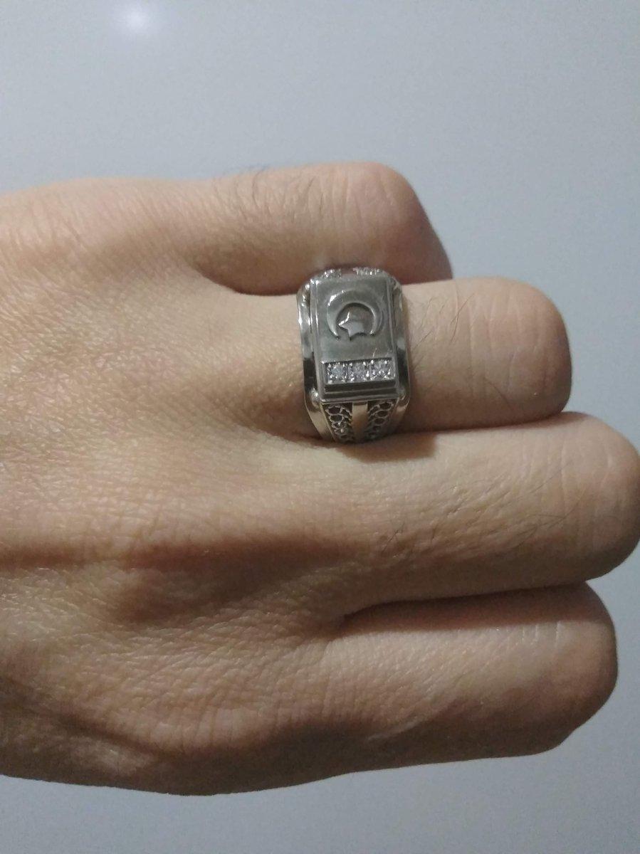 Мусульманское сребряное кольцо