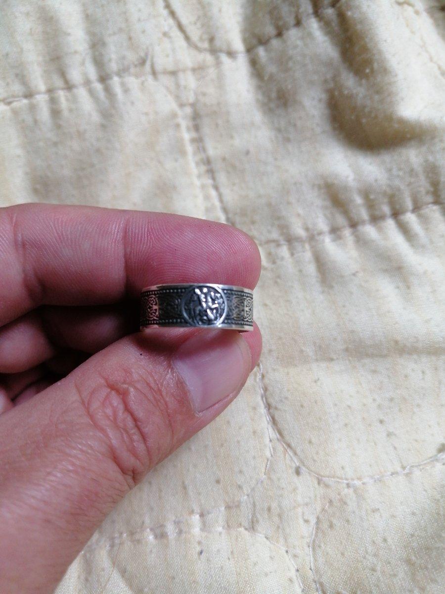 Кольцо спаси и сохрани, серебро.