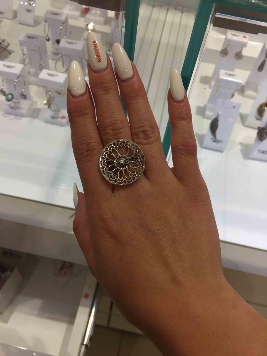Серебряное кольцо , от которого восторг!
