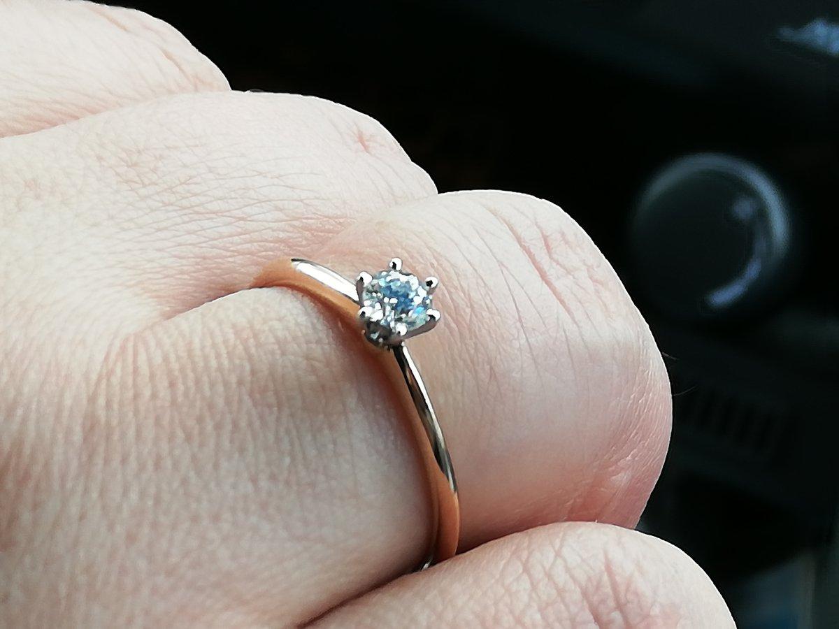 Кольцо  супруге