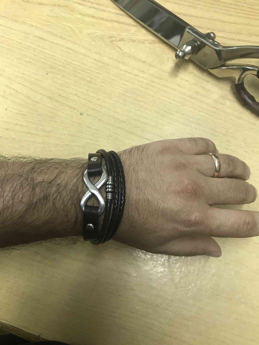 Кожанный браслет Okami