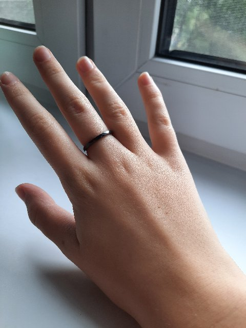 Кольцо чёрное👍🤟
