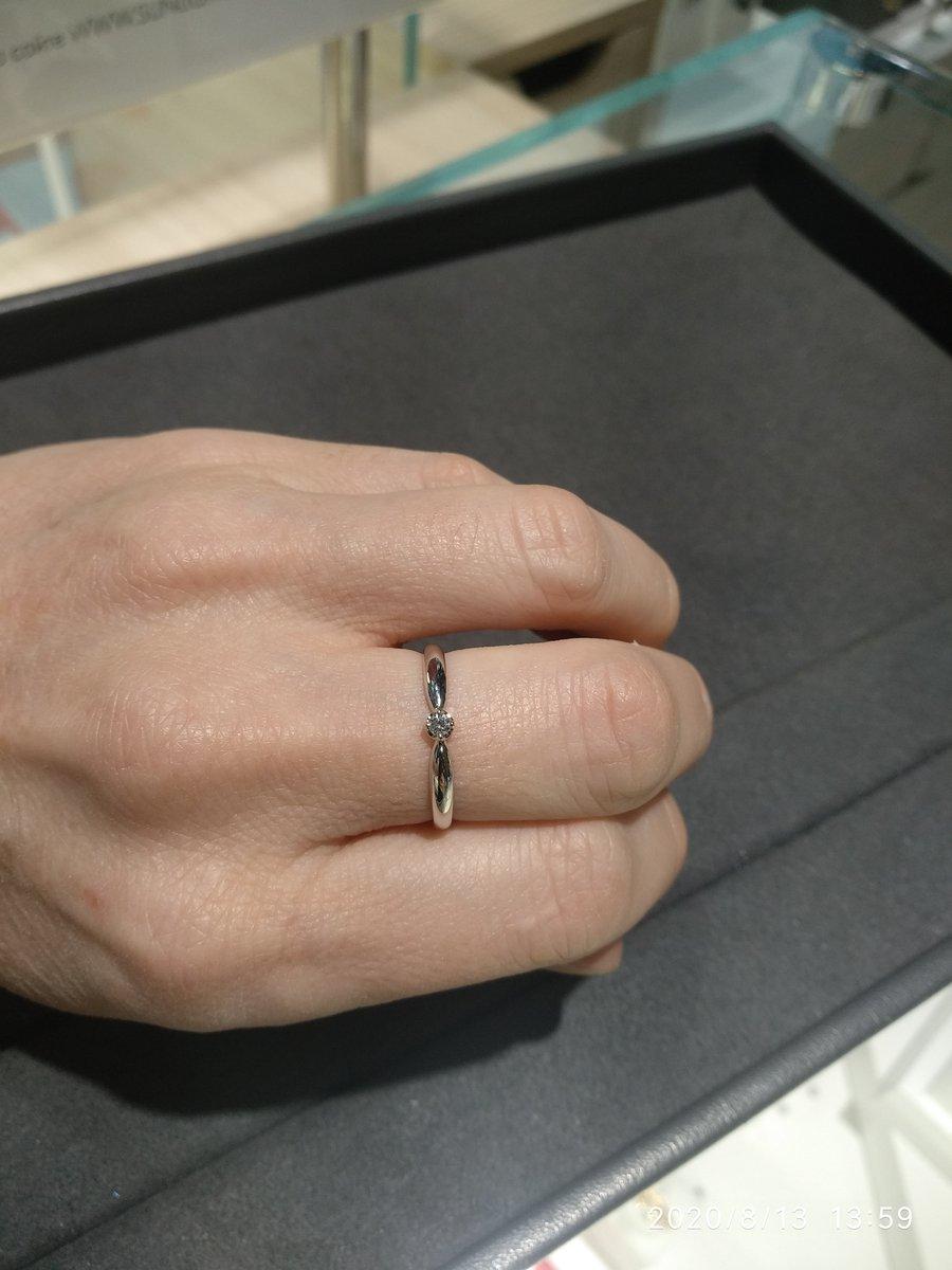 Кольцо с брильянтиком