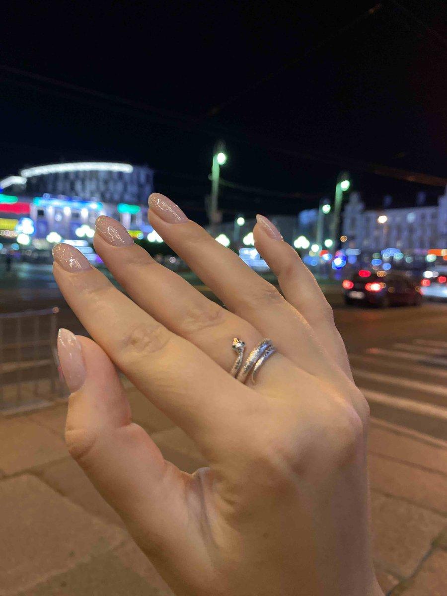 Витьеватое кольцо в виде змейки