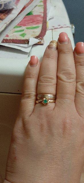 Очень очаровательное кольцо!