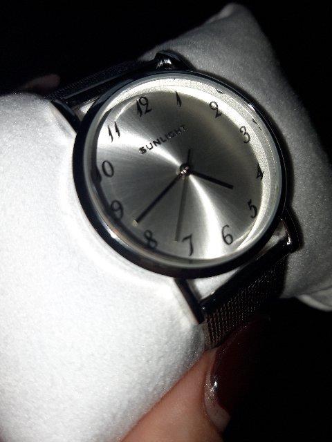 Часы серебрянные