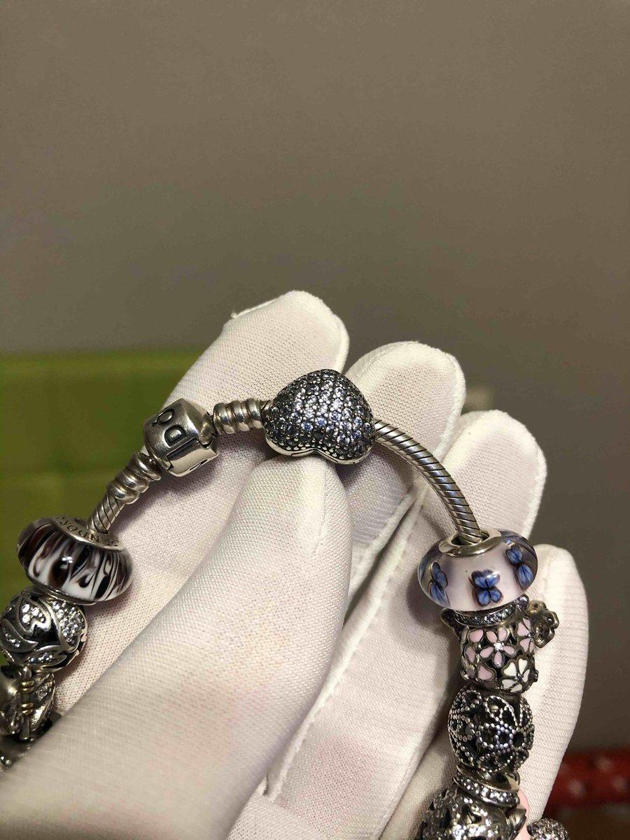 Серебрянная подвеска-шарм