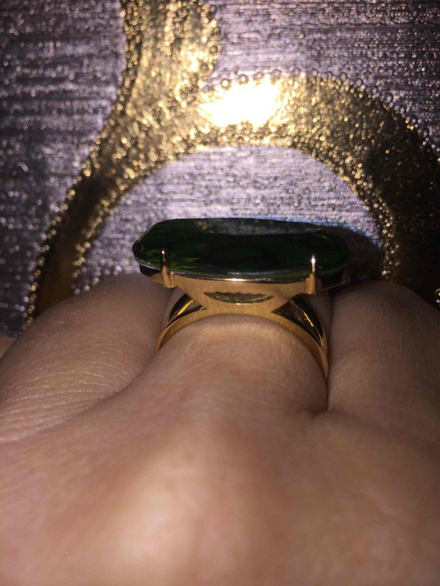 Серебряное кольцо с алпанитом.