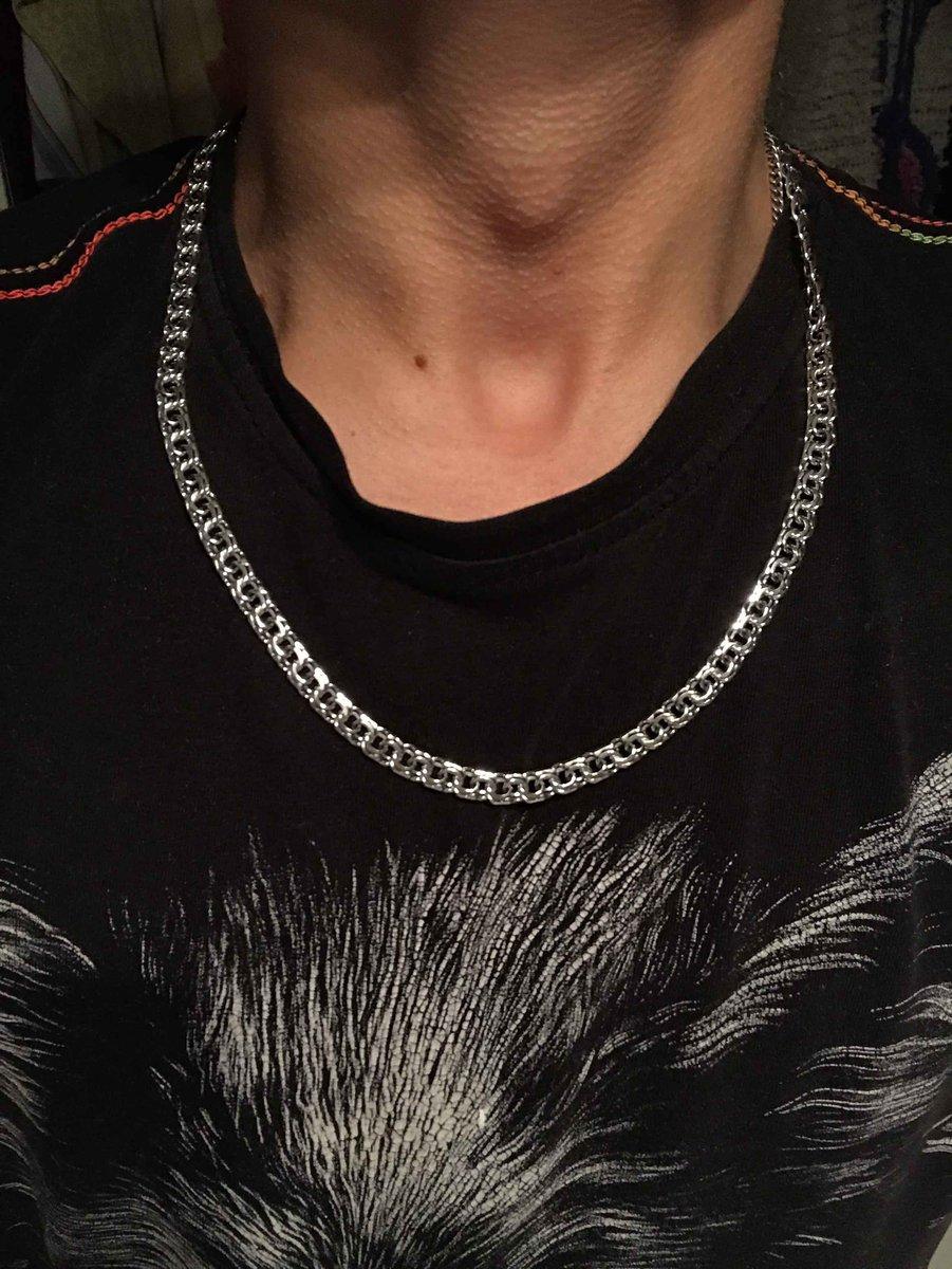 Цепочка на шею мужская