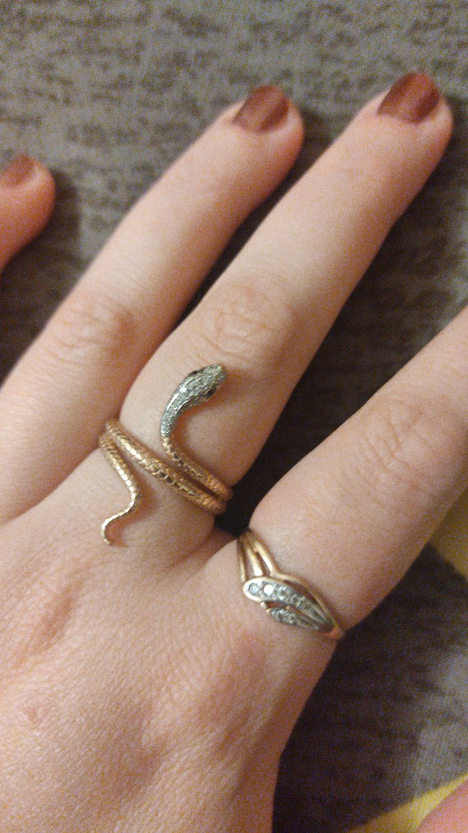 Кольцо змея 🐍