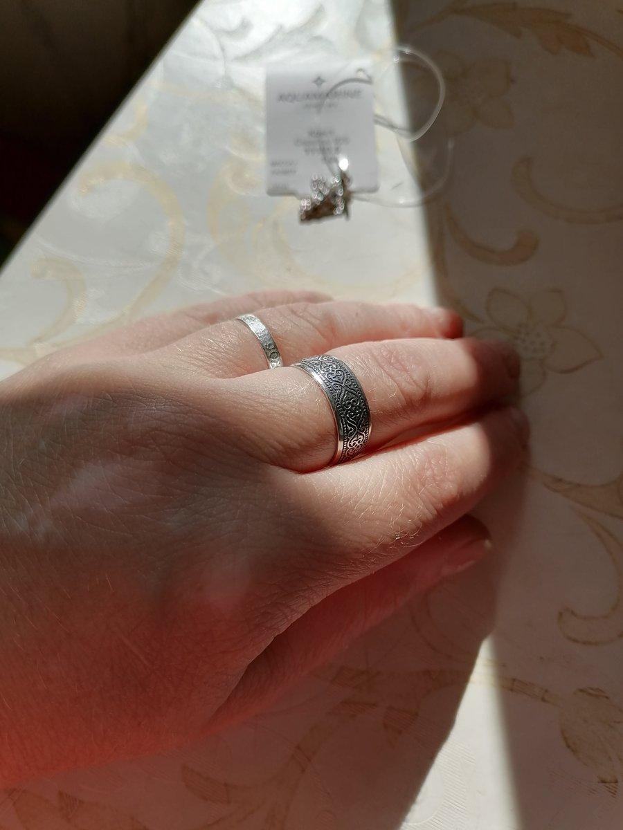 Серебряное кольцо с малитвой