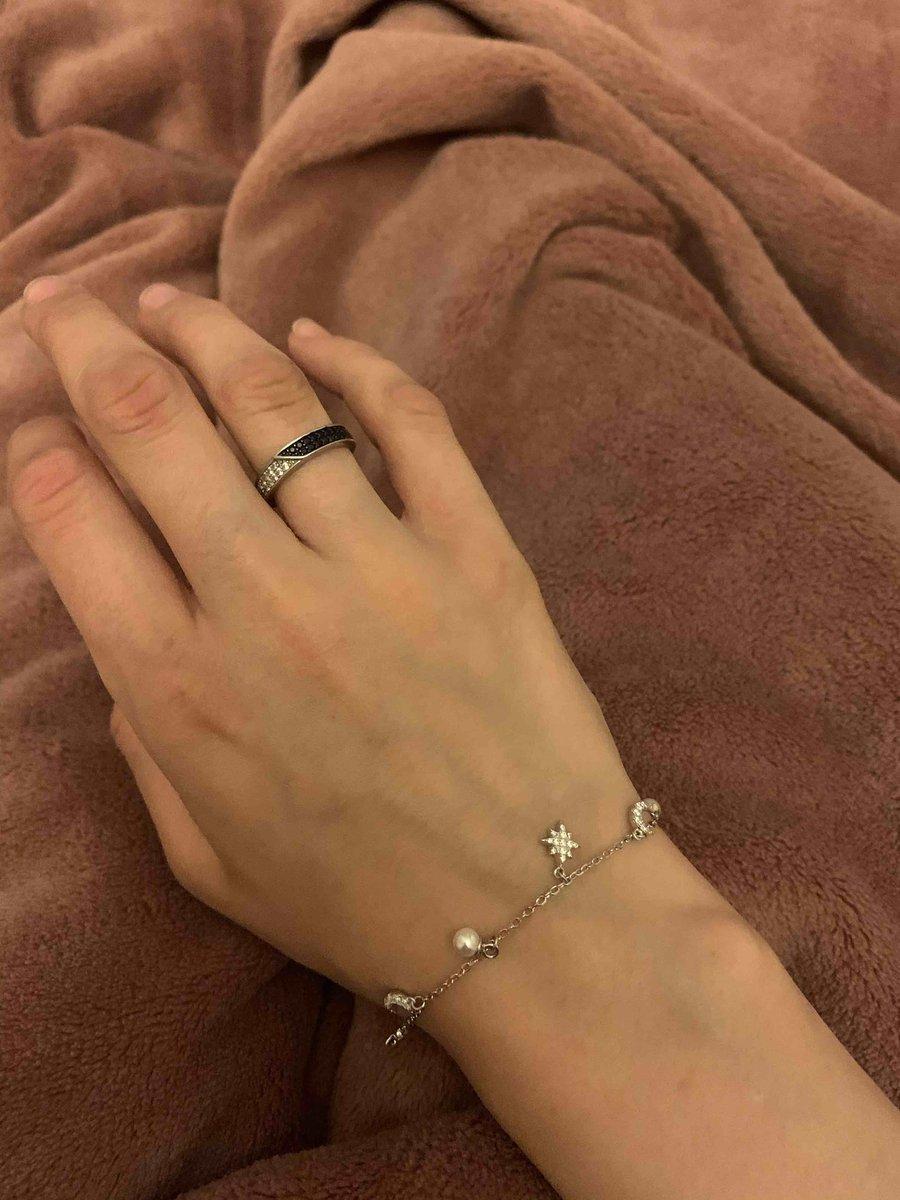 Очень красивый и нежный браслет 👍🏻👍🏻🤍