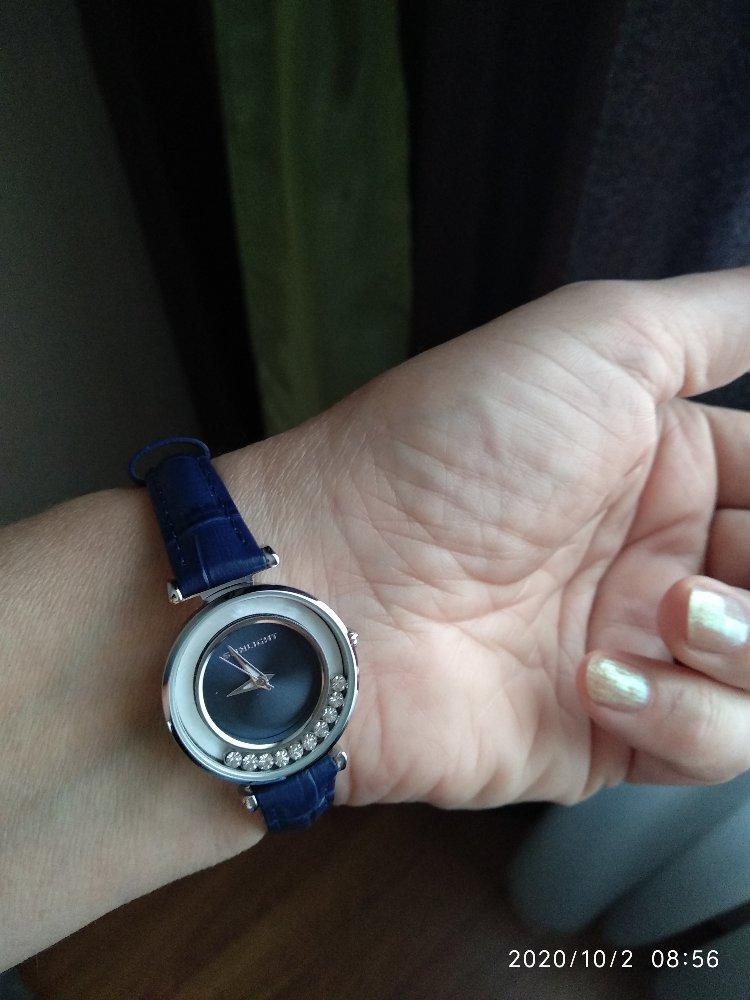 Отличные часы!давно мечтала о таких!