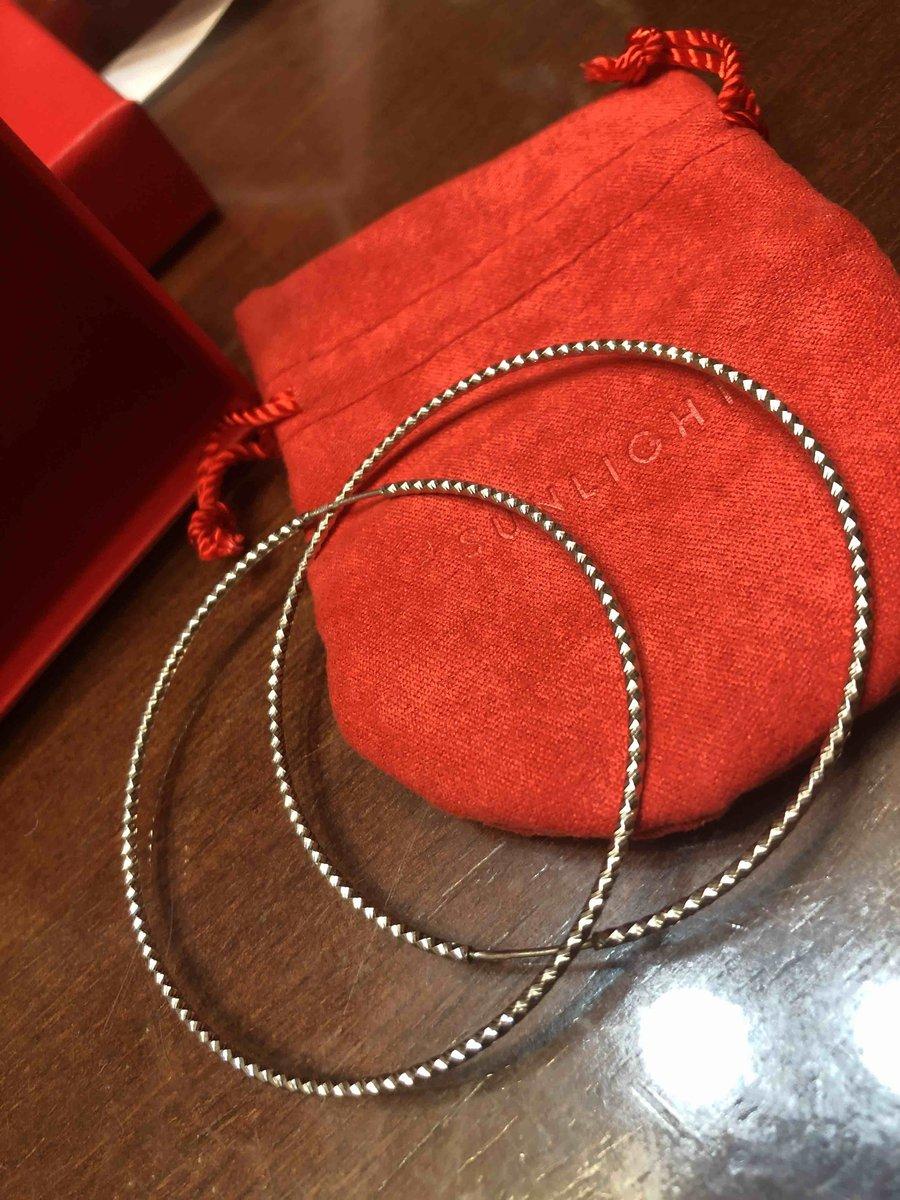 Сережки кольца (серебро)