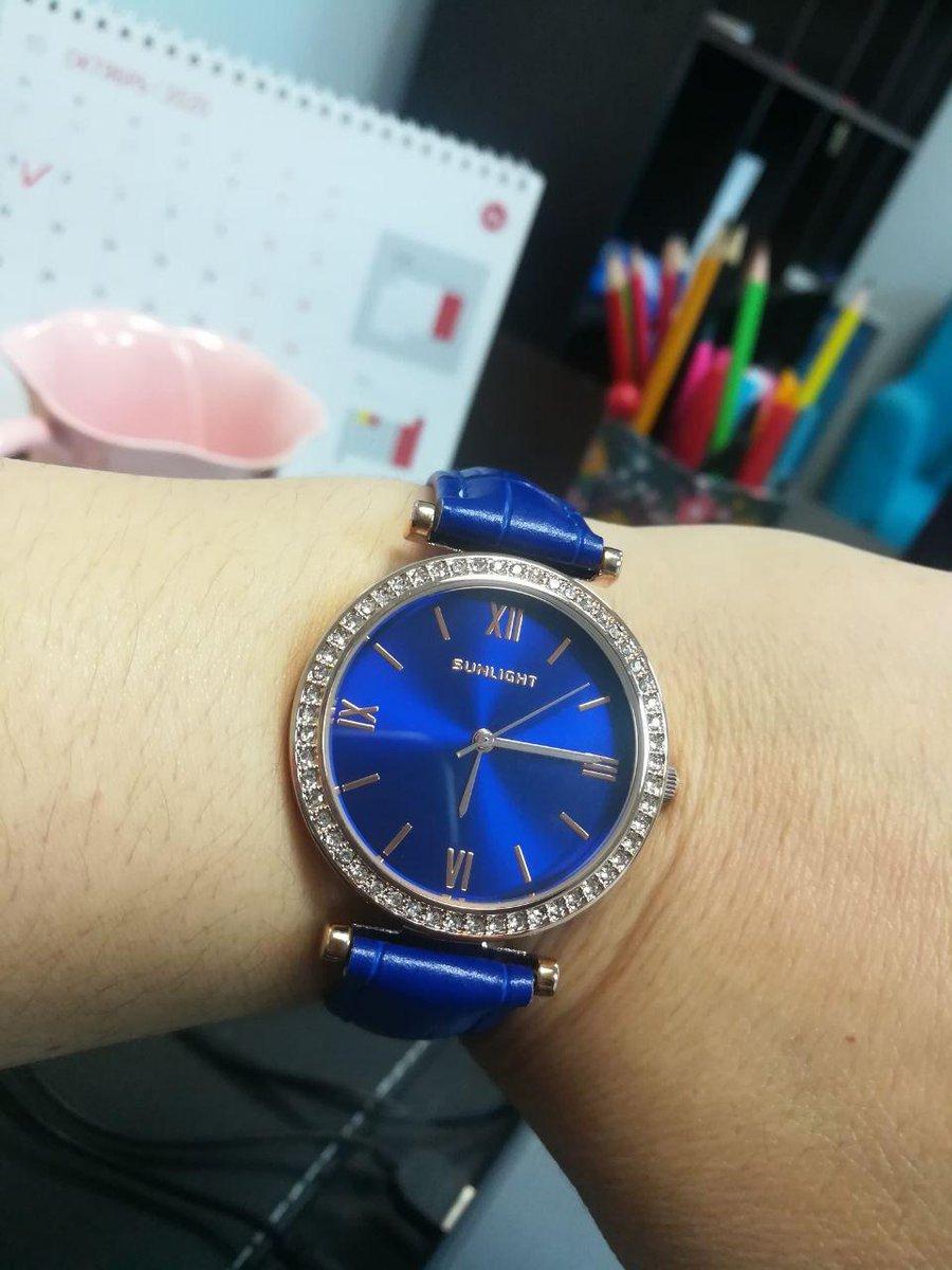 Супер синие часы