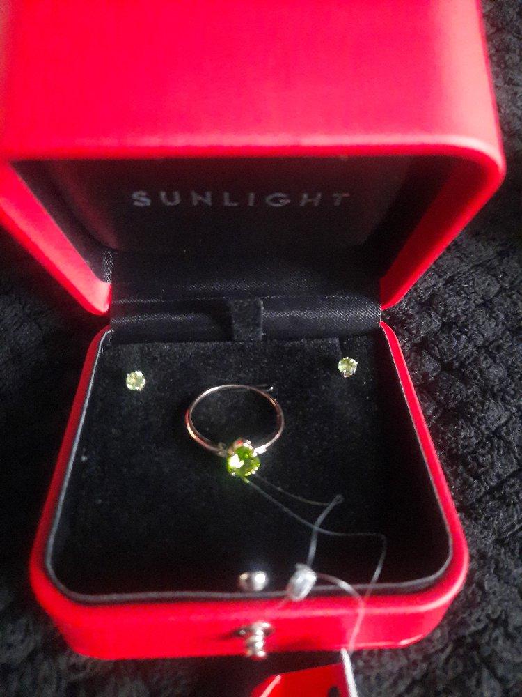 Хризолит кольцо