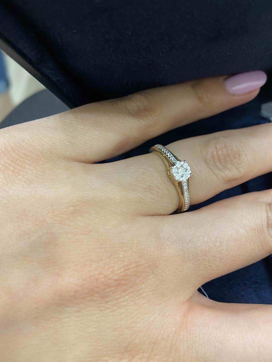 Бриллианты . кольцо